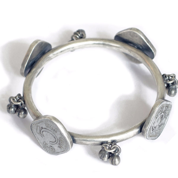 Vintage Coin Bangle - Quirksmith
