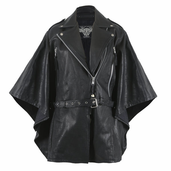 Sasana Leather Cape