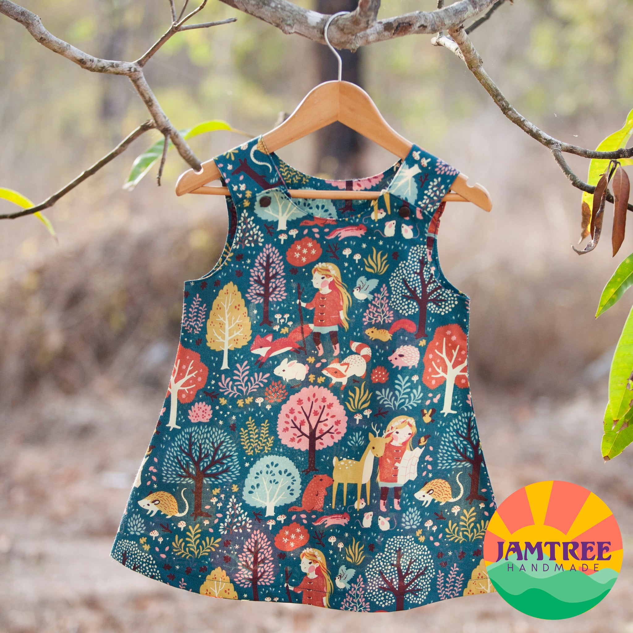 Nature Girl - Pinafore - size 2