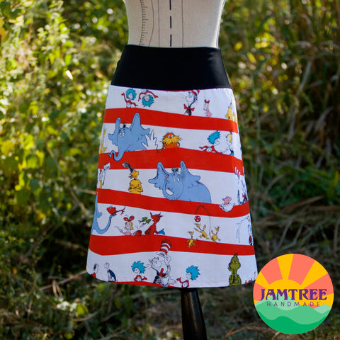 Dr Suess Skirt