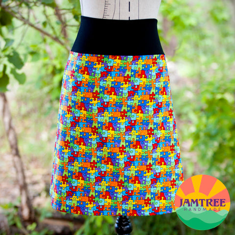 Puzzle Skirt
