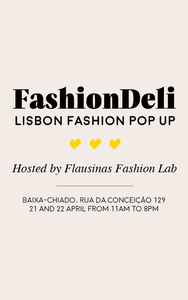 Envelope Lisboa selling at FashionDeli | 21&22 April
