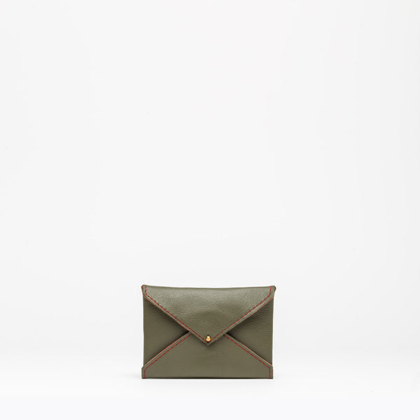 MINI PURSE Olive Heron