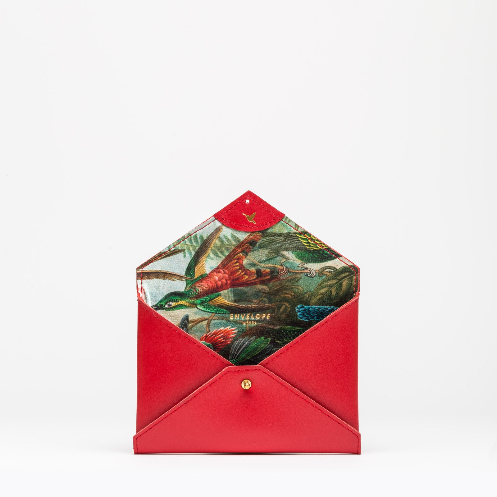 PURSE Red Hummingbird