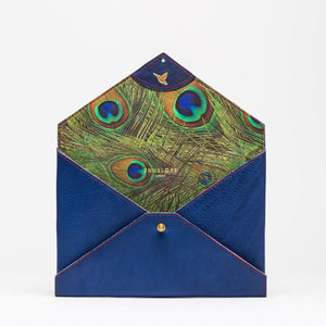 CLUTCH Indigo Peacock