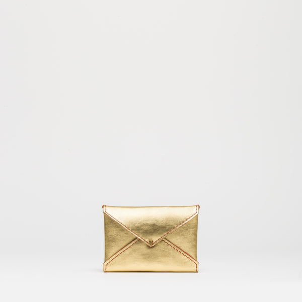 MINI PURSE Gold Peony