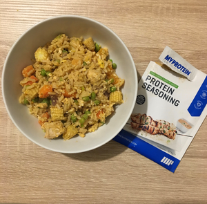 MyProtein Thai Jungle Curry Protein Seasoning™ Egg Fried Rice