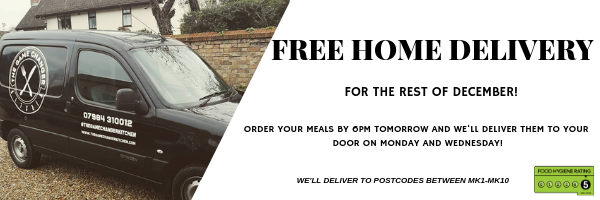 FREE MEAL PREP HOME DELIVERY THIS DECEMBER