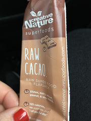 Raw Cacao Vegan Bar