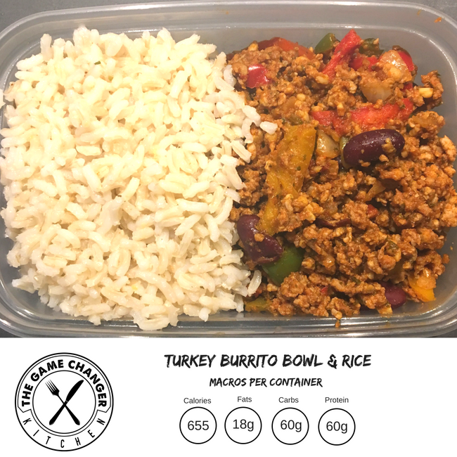 Turkey Burrito Bowl
