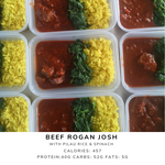 Rojan Josh with Pilau Rice