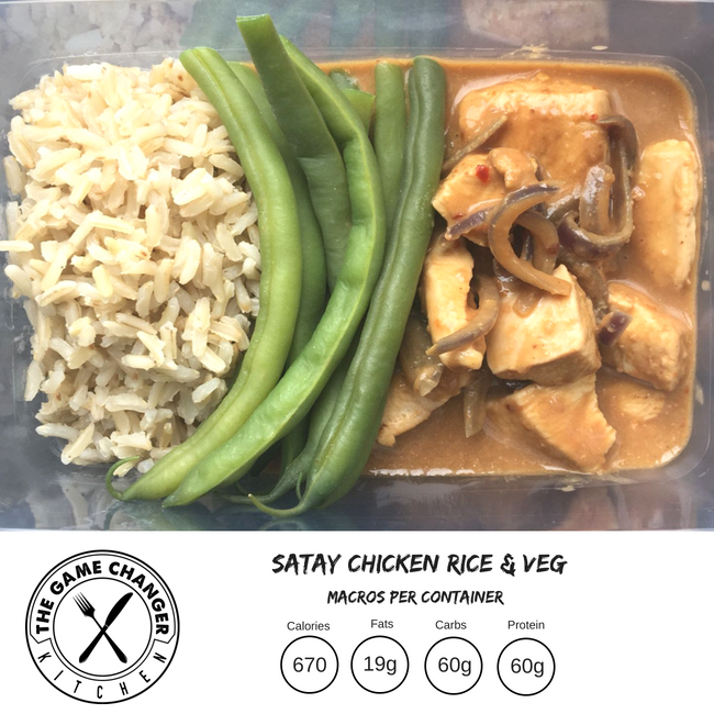 Spicy Satay Chicken