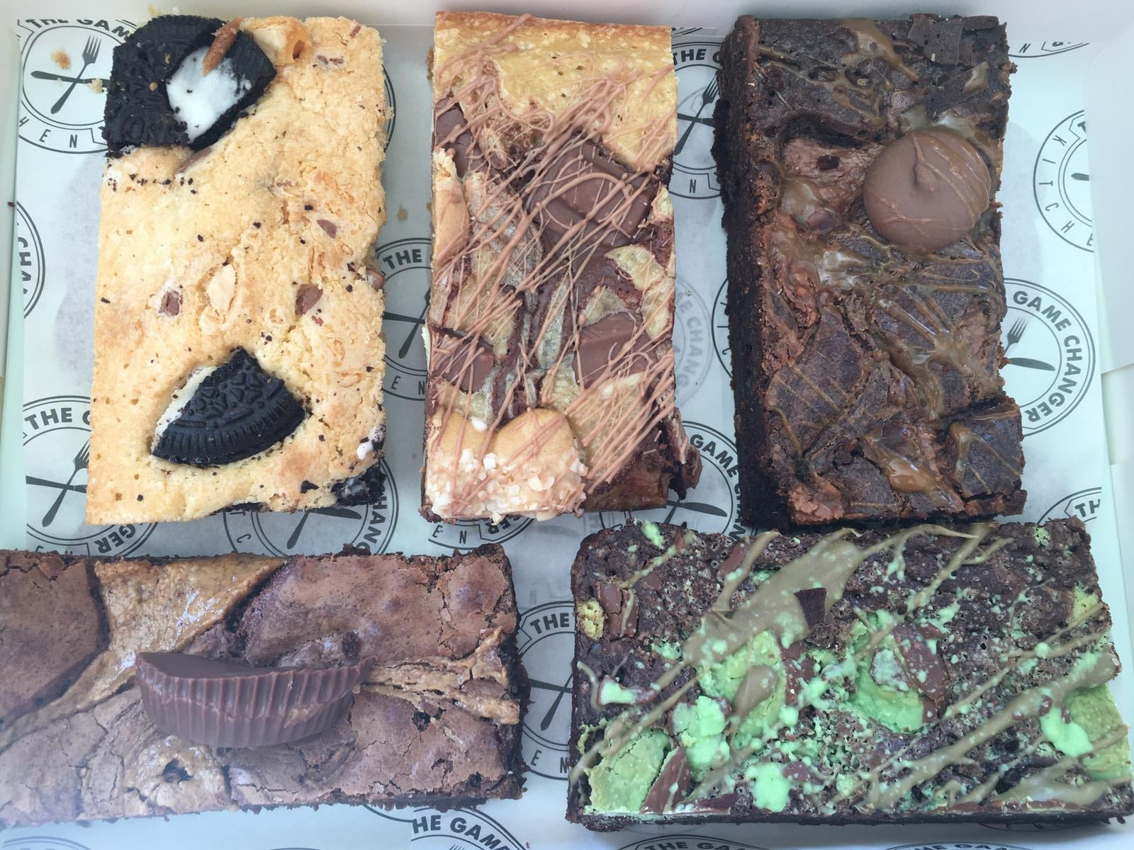 BROWNIE/BLONDIE BOX - DELIVERED FRIDAY 14TH AUGUST