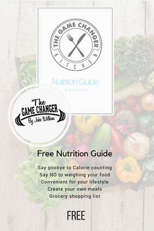 Free One Week Food Plan - thegamechangertraining