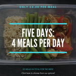 Five Days: 20 Meals