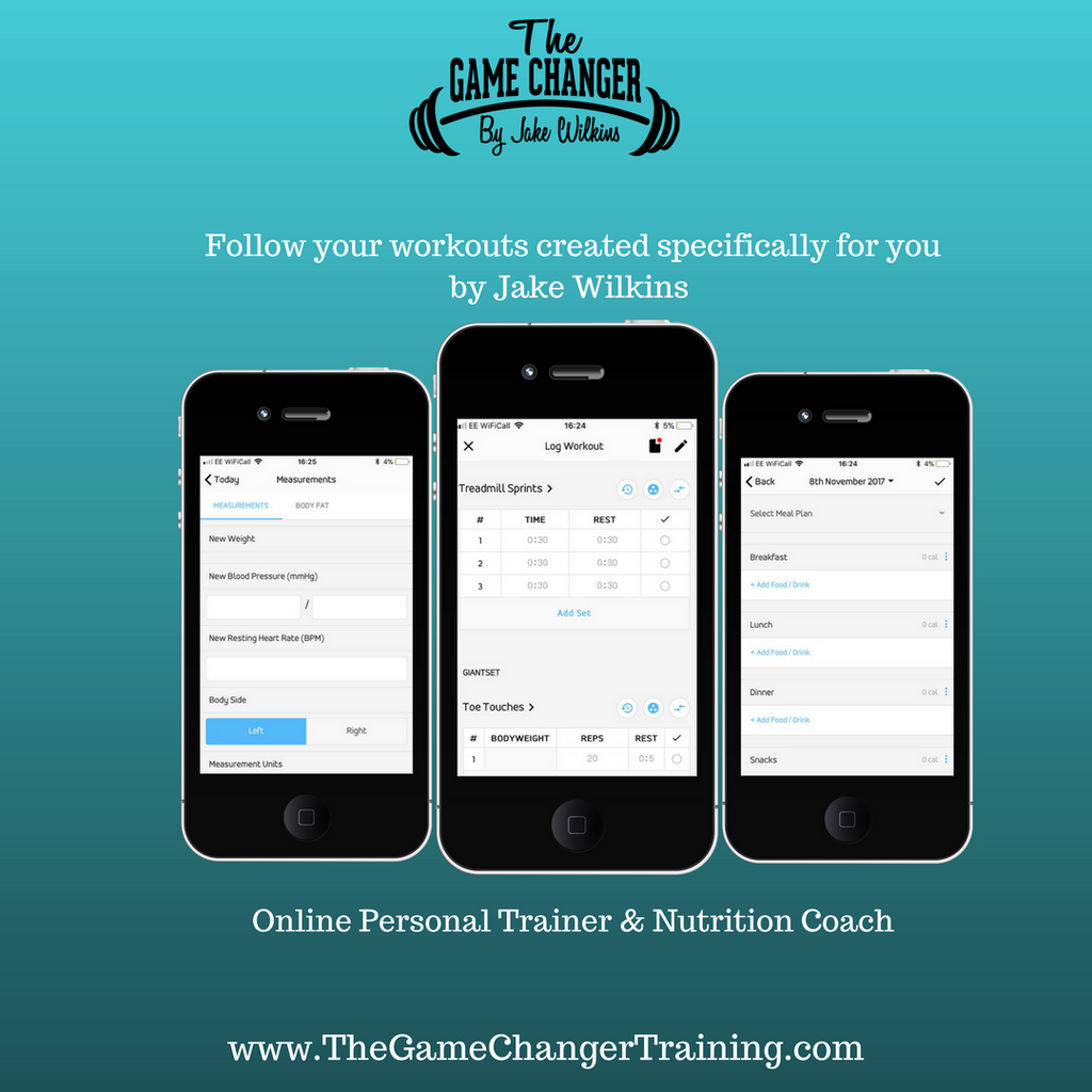 Monthly Personal Trainer - thegamechangertraining