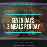 Seven Days: 21 Meals