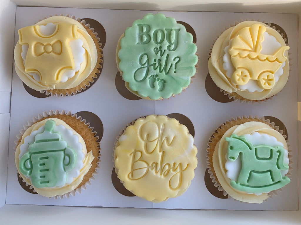 Special Occasion Cupcake Box of 6 Delivered