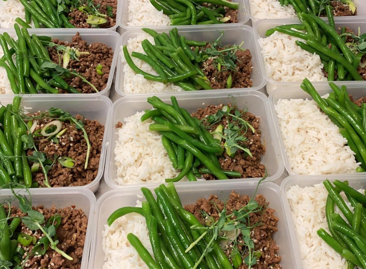 MONDAY 2ND NOVEMBER - Korean Beef with Rice and Green Beans