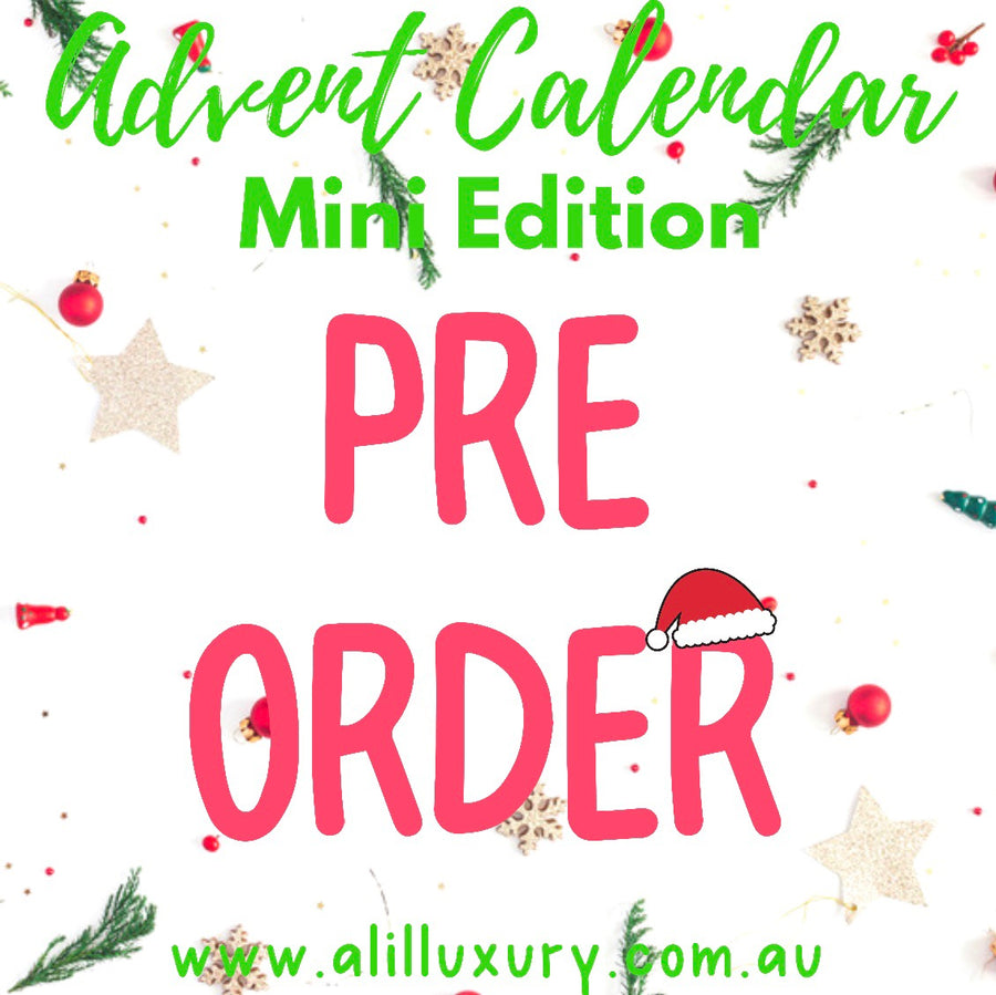 Mini Edition | Advent Calendar- 24 Days Of Christmas