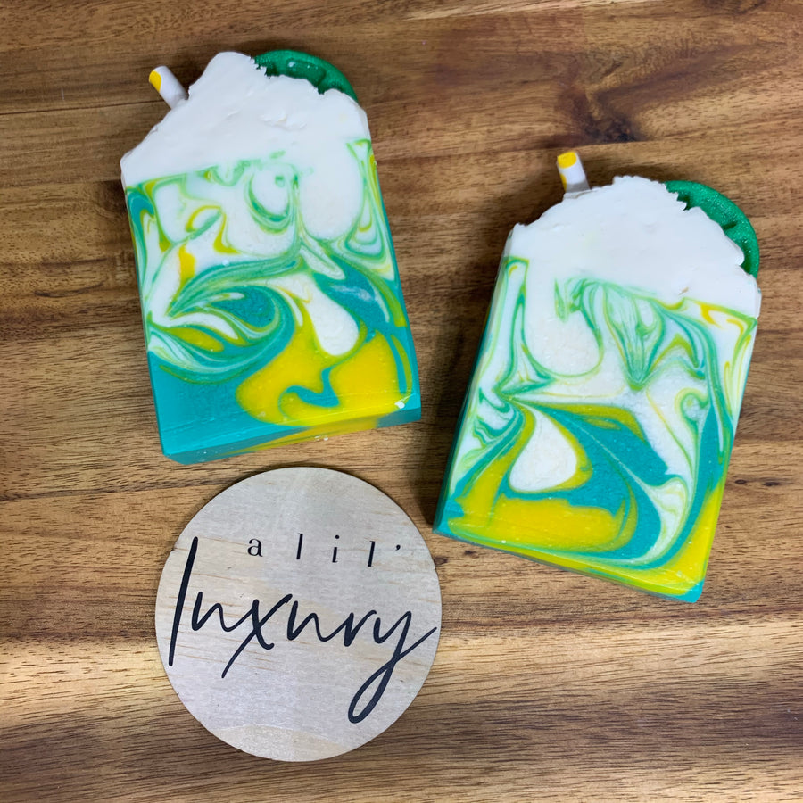 Sandalwood & Kaffir Lime Luxe Soap Bar