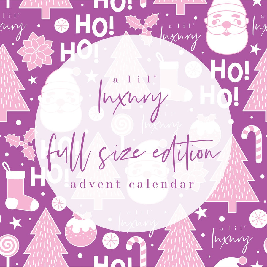 FULL SIZE Edition | Advent Calendar 24 Days Of Christmas - PRE ORDER