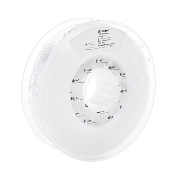 Ultimaker CPE+ Transparent Filament (NFC)