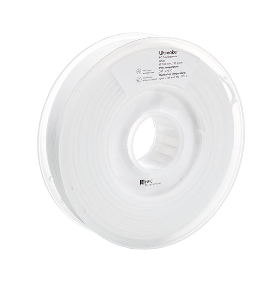 Ultimaker PC (polycarbonate) White Filament (NFC)