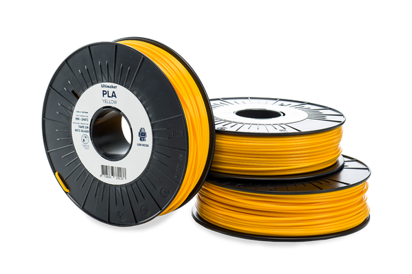 Ultimaker PLA Yellow Filament
