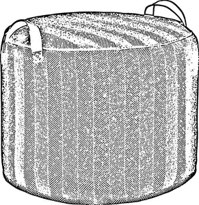 Picture of a tuffet - pouffe