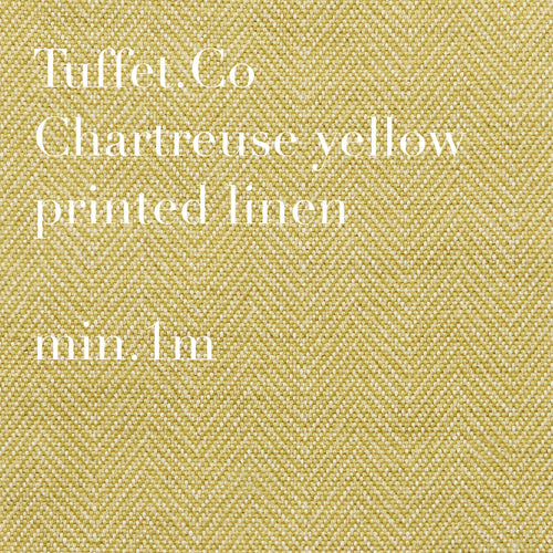 Chartreuse Yellow sm.herringbone