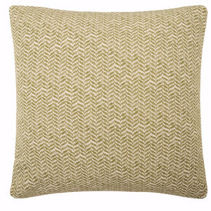 DARK OLIVE Linen 45cm Cushion