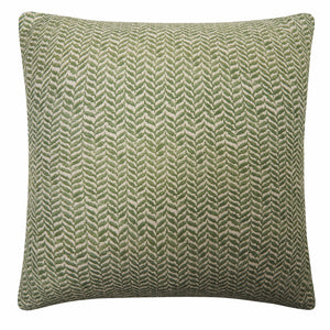IVY 45cm Printed Linen Cushion