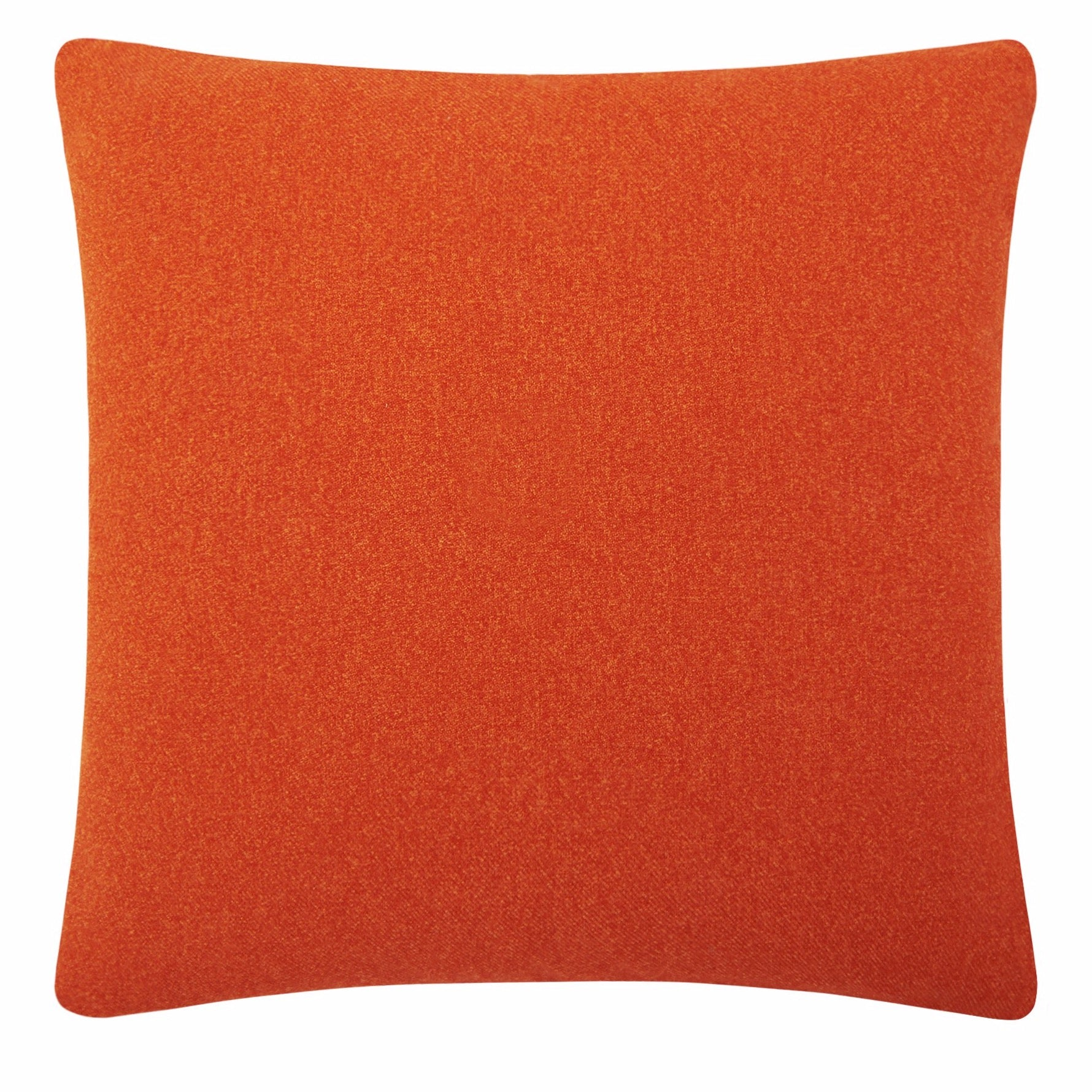 ORANGE colour splash cushion
