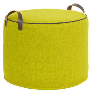 COLOUR POP Lime zest  pouffe