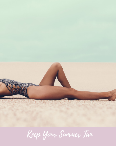 Dr Marine's tip: How to keep your sun-kissed Tan