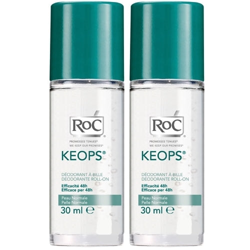 RoC - Keops Roll-On Deodorant 2 x 30ml