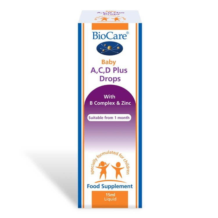 Biocare - A,C,D Plus Drops
