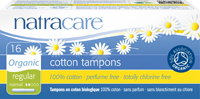 Natracare - Organic Tampons with Applicator 16s