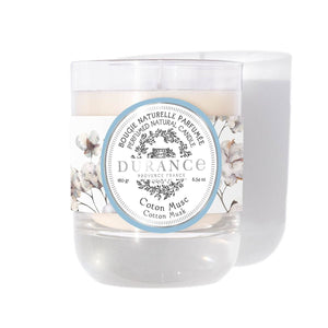 Durance - Perfumed Natural Candle Cotton Musk 180 gr