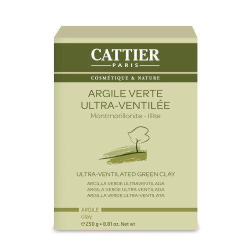 Cattier - Green Clay Ultra-Ventilated 250g