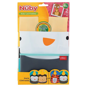 Nuby Catch All Bib Twin Pack