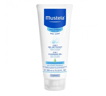 Mustela - 2-in-1 Cleansing Gel Hair & Body