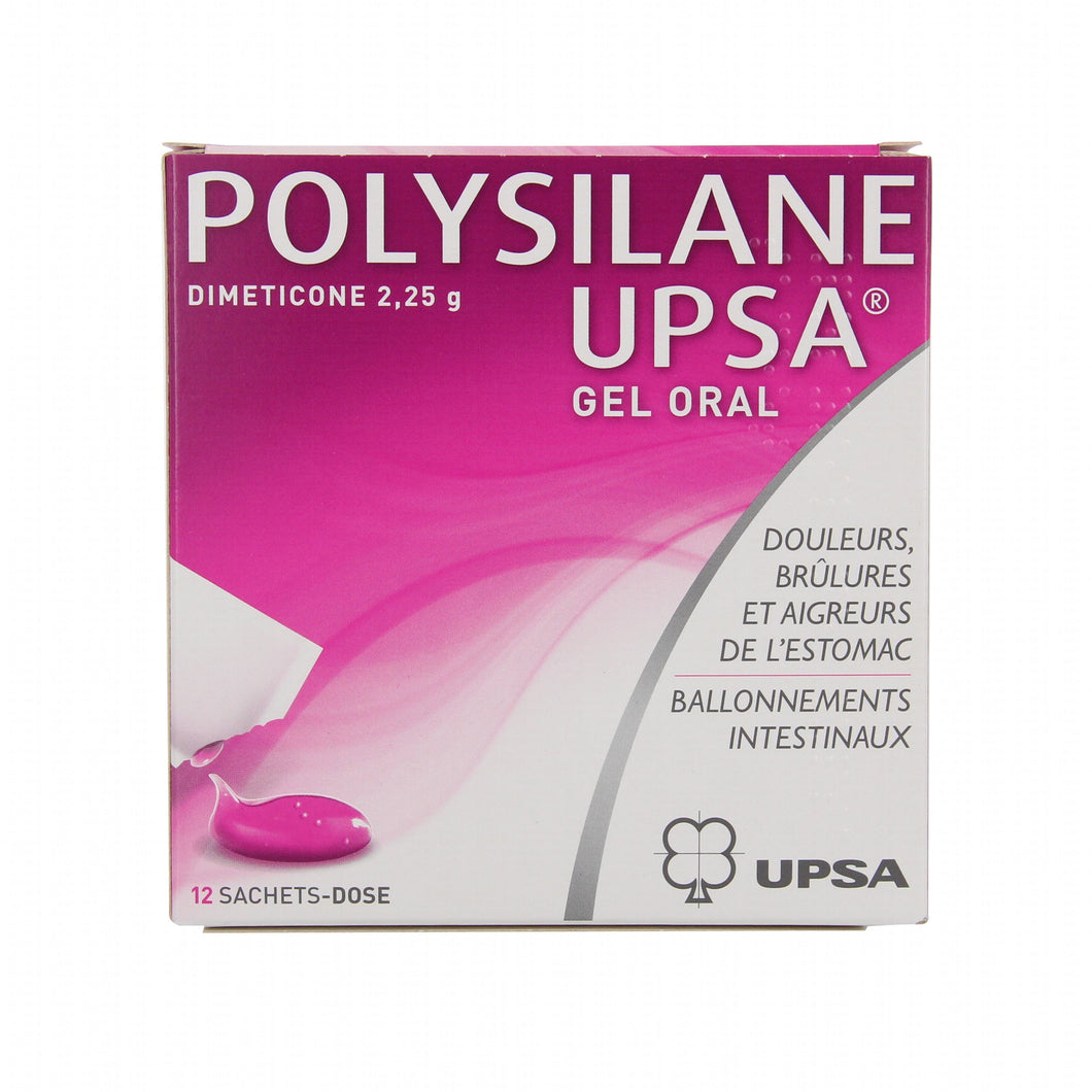 Polysilane UPSA -  Oral Gel Sachets