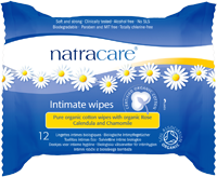 Natracare - Intimate Wipes