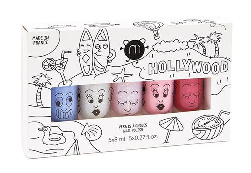 Nailmatic - Hollywood set of Varnish (5)