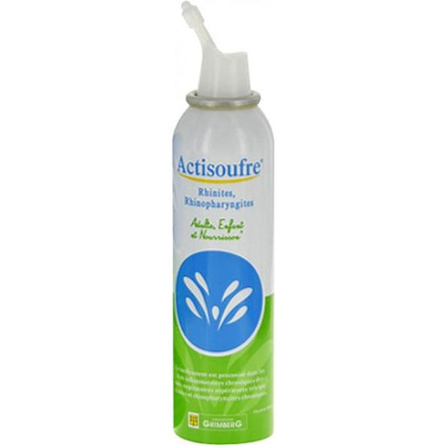 Actisoufre - Nasal/Mouth Spray Solution for Cold and Rhinitis 100 ml
