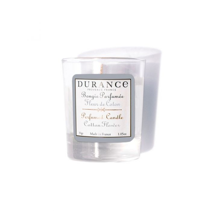 Durance - Cotton Flower Mini Candle 30gr