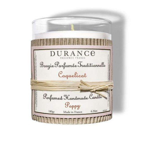 Durance - Perfumed Candle Poppy
