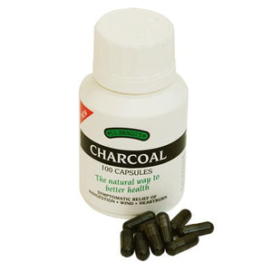 Bragg - Activated Charcoal Capsules 100